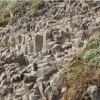 Freigelegter Lavastrom in Dohm-Lammersdorf/Vulkaneifel bereichert das Dorfbild