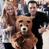 Teddybär auf Weltreise