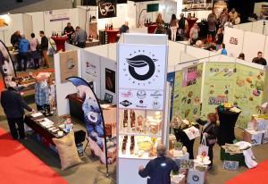 """Gemeinsam präsentierten sich die Produzenten des Labels """"Made in Ostbelgien"""" unter anderem bei der Weinmesse """"TriVinum"""" in St. Vith. Foto: Triangel/pp/Agentur ProfiPress"""