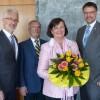 Monika Neumann aus Gerolstein mit der Ehrennadel des Landes Rheinland-Pfalz ausgezeichnet
