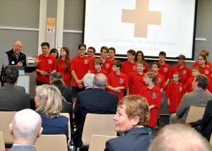 """""""Unterstützen wir diese Kinder und Jugendlichen, damit sie die Welt verändern"""", sagte Rolf Zimmermann. Foto: Renate Hotse/pp/Agentur ProfiPress"""