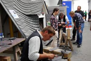 Viele praktische Einblicke in die Berufschancen in den verschiedensten Handwerksberufen erhalten Besucher des Schüler-Eltern-Tages in der Handwerkskammer Trier. Foto: HWK/pp/Agentur ProfiPress