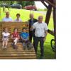 Zahlreiche Gäste weihten den neuen Wanderrastplatz in Kerschenbach ein
