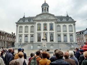 Das Hôtel de Ville in Verviers, das historische Rathaus aus dem späten 18. Jahrhundert, war eines der Ziele der Eifeler Ausflügler. Foto: Privat/pp/Agentur ProfiPress
