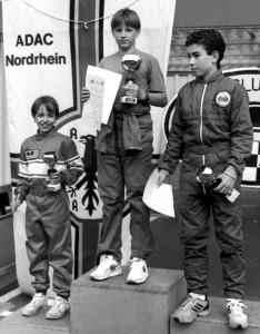 Der heutige RCN-Vizevorsitzender Marcel Kronenberg stand 1992 beim Jugendkart schon ganz oben auf dem Treppchen. Foto: Reiner Züll/pp/Agentur ProfiPress