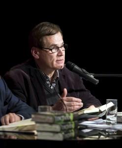 Der Kulturjournalist und Hörfunkmoderator Dr. David Eisermann wird mit Martin Walser über dessen Buch sprechen. Fotos: Autorenbüro David Eisermann