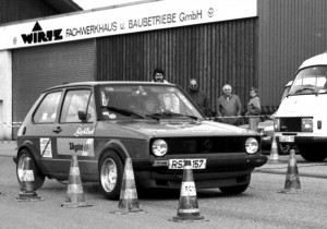 Ende der 80er-Jahre fanden die Slalomveranstaltungen des RCN im Kaller Industriegebiet statt. Foto: Reiner Züll/pp/Agentur ProfiPress