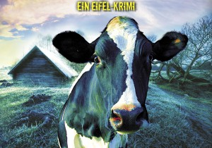 """Eine Horde wildgewordener Kühe bringt die Ermittlungen im neuen Eifel-Krimi """"Kehrblechblues"""" von Martina Kempff ins Rollen. Bild: KBV-Verlag/pp/Agentur ProfiPress"""