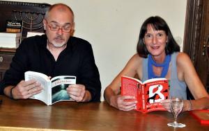 Andreas J. Schulte und Antonia Pauly sorgten im Kloster Steinfeld für Spannung. Foto: Renate Hotse/pp/Agentur ProfiPress