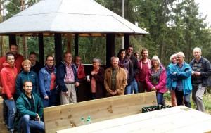Rundum gelungen ist die Sanierung der Ruppenberg-Hütte, an der Junggesellenverein, Eifelverein und Stadt Schleiden mitgewirkt haben. Foto: Stadt Schleiden/pp/Agentur ProfiPress