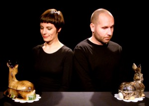 """Ohne Worte kommt das 29 Minuten lange Stück """"Ma biche et mon lapin"""" am Samstag, 22. Oktober, 14 Uhr aus. Foto: Agora-Theater"""