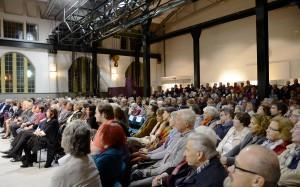 Über 400 Besucher erlebten eine eindrucksvolle Lesung im Jugendstilkraftwerk Heimbach. Foto: Sarah Winter/pp/Agentur ProfiPress
