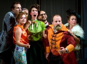 """Das Agora-Theater selbst führt zwei Stücke auf, darunter am Mittwoch, 19. Oktober, 20 Uhr, """"Die Harmonie der Gefiederten"""". Foto: Gilles Destexhe/Province de Liège"""