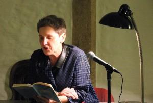 Felicitas Hoppe blickte bei der Lit-Eifel-Lesung in Monschau höchst unterhaltsam auf 20 durchaus turbulente Schaffensjahre zurück. Foto: Claudia Hoffmann/pp/Agentur ProfiPress