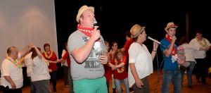 """Gut gelaunt sorgten """"Troublemakers"""" und """"Lets Dance"""" für Stimmung in Blankenheim. Foto: Manfred Lang/pp/Agentur ProfiPress"""