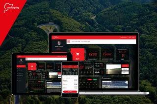 Neues Online-Portal: Via Web und App auf Nordschleife und Grand-Prix-Strecke. Foto: Nürburgring