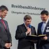 Landkreis erhält Bundesfördermittel für flächendeckenden Breitbandausbau