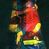 Lichtkunstinstallation am Hochmoselübergang