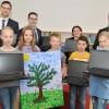 Ein Dutzend Notebooks für die Grundschule Dahlem