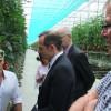EIFEL Produzent Gemüseland Vulkaneifel empfängt Minister