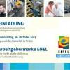 Einladung zur Informationsveranstaltung zur Arbeitgebermarke EIFEL