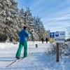 Schneelage und Wintersportmöglichkeiten sorgten für kurzfristige Buchungen in Ostbelgien