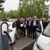 Neue cambio-Car-Sharing-Station am Kreishaus Düren