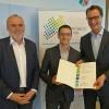 Mobilitätsmanager der StädteRegion Aachen von NRW-Verkehrsminister Hendrik Wüst ausgezeichnet