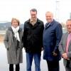Verkehrsminister besucht Aldenhoven Testing Center