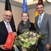 """""""Wir sind vom gleichen Schlag"""" – Helmut Etschenberg (71), einer der Gründer der Europäischen Wirtschaftlichen Interessenvereinigung (EWIV) """"Eifel-Ardennen Marketing"""", in Eupen verabschiedet."""