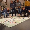 Spielfigürchen machen demografischen Wandel in Nideggen sichtbar