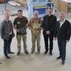 Schreinerei Junglas in Gamlen feiert 25-jähriges Jubiläum, Geschäftsübernahme und Eröffnung der neuen Werkstatt