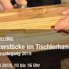 Hohe Kunst der Tischler im BGZ – Meisterstücke werden im Simmerather Bildungszentrum ausgestellt