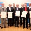 Sechs neue Ehrenamtsträger mit Goldstatus – Kreishandwerkerschaft MEHR verleiht Ehrennadeln
