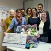 """""""Ein guter Start für kleine Füße"""" – Spendenübergabe an die Hebammenzentrale"""
