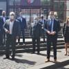 Besuch aus Mainz: Staatssekretär Dr. Alexander Wilhelm würdigt die erfolgreiche Corona-Bekämpfung im Eifelkreis