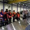 Künftige Azubis auf Jobexpedition – Schüler der Höheren Berufsfachschulen Metalltechnik und Elektrotechnik des Thomas-Eßer-Berufskollegs waren auf Tour
