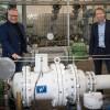 Erste Turbine im Erdgasnetz in Betrieb –Stadtwerke Trier erzeugen erstmals Strom aus Druckenergie im Erdgasnetz
